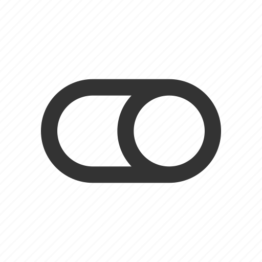 control, preference, right, slider, toggle icon