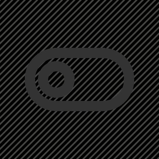 control, left, preference, slider, toggle icon