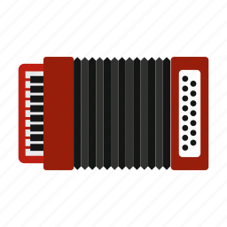 accordion, equipment, instrument, music, musical, musician, sound icon