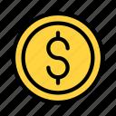 dollar, coin, currency, money, switzerland