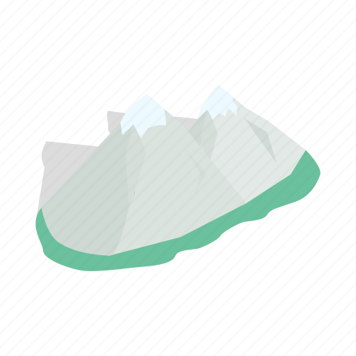 alps, isometric, mountain, nature, snow, switzerland, winter icon