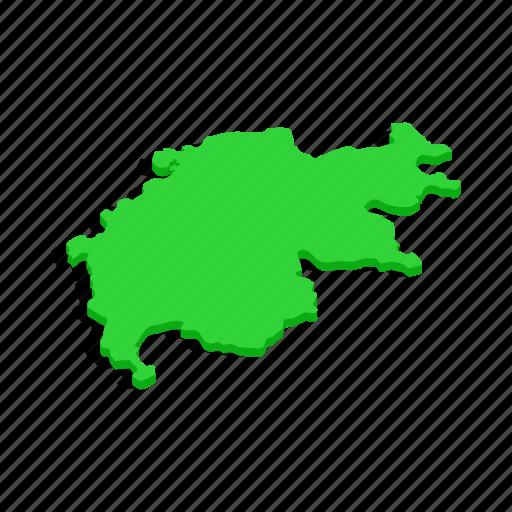 Cartography, europe, isometric, map, swiss, switzerland, travel icon - Download on Iconfinder