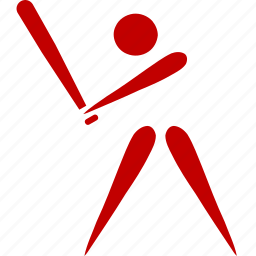 athlete, baseball, game, sport icon