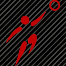 athlete, basketball, game, sport icon