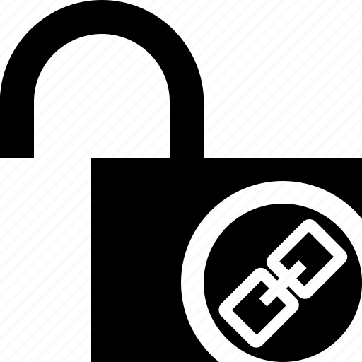 access, link, password, protection, secure, unlock icon