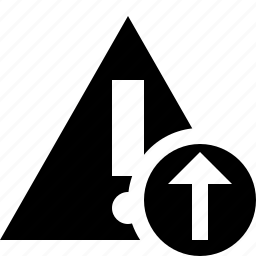 alert, caution, error, exclamation, upload, warning icon