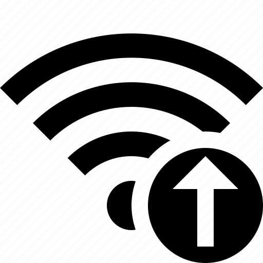 connection, fi, internet, upload, wi, wifi, wireless icon