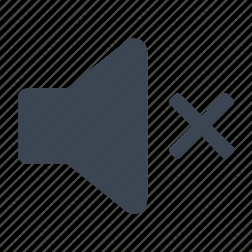 Mute, off, sound, volume icon - Download on Iconfinder