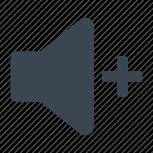 on, sound, volume icon