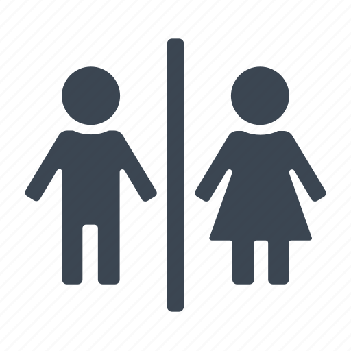 Female, male, male female, toilet icon - Download on Iconfinder
