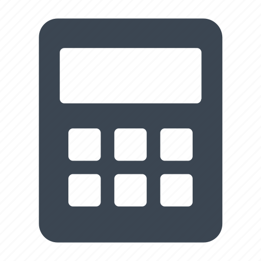 Calculate, calculator, math icon - Download on Iconfinder