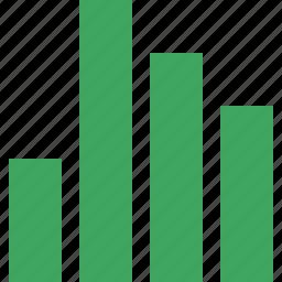 analytics, bar, chart, graph, report, statistics icon