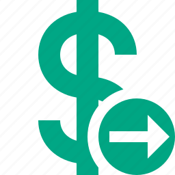 business, cash, currency, dollar, finance, money, next icon
