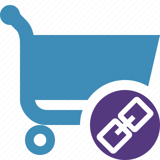 buy, cart, ecommerce, link, shop, shopping icon