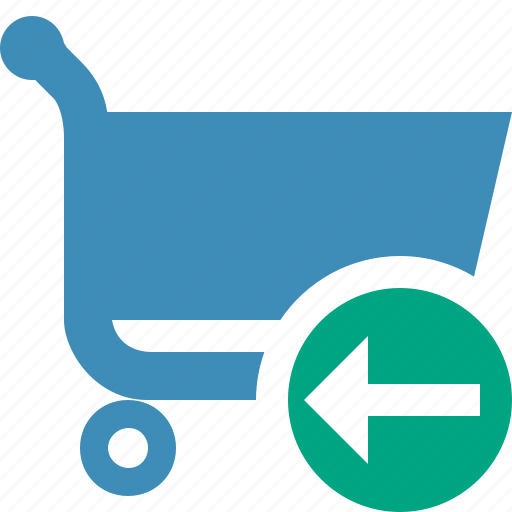 buy, cart, ecommerce, previous, shop, shopping icon