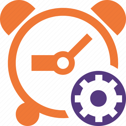 alarm, clock, event, schedule, settings, time, timer icon
