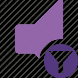 audio, filter, music, sound, speaker, volume icon