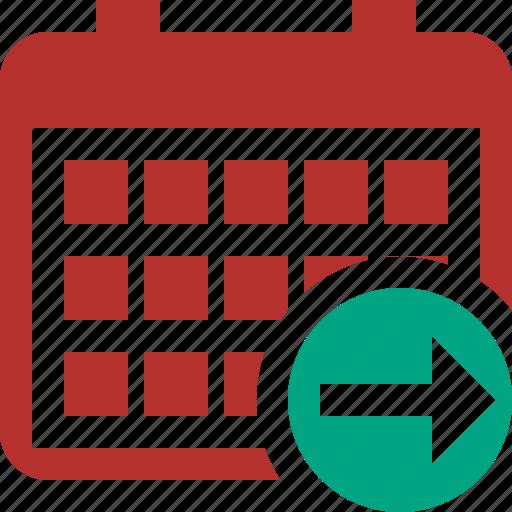 Calendar, date, day, event, month, next, schedule icon - Download on Iconfinder
