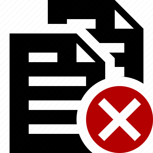 cancel, copy, documents, duplicate, files, paste icon