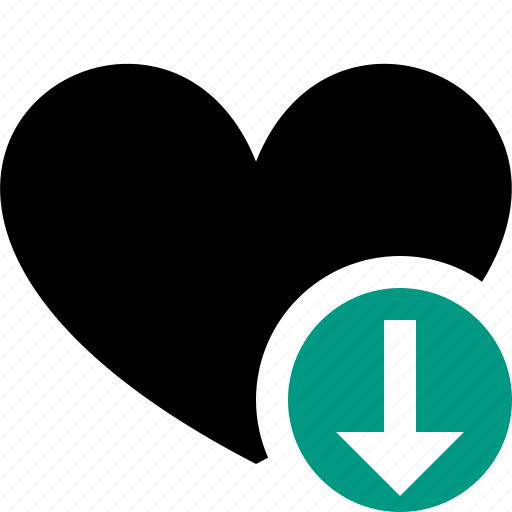bookmark, download, favorites, heart, like, love icon