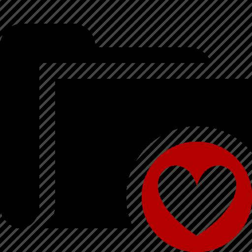 Category, favorites, file, folder, open icon - Download on Iconfinder