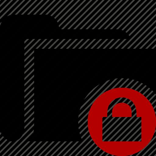 category, file, folder, lock, open icon