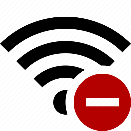 connection, fi, internet, stop, wi, wifi, wireless icon