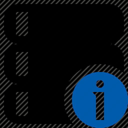 data, database, information, server, storage icon