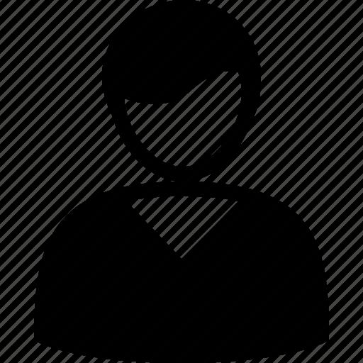 account, client, male, profile, user icon