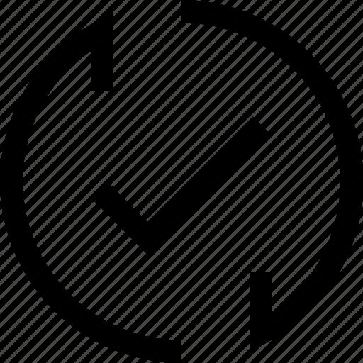 arrow, check, decrease, increase, mark, recycle, refresh icon