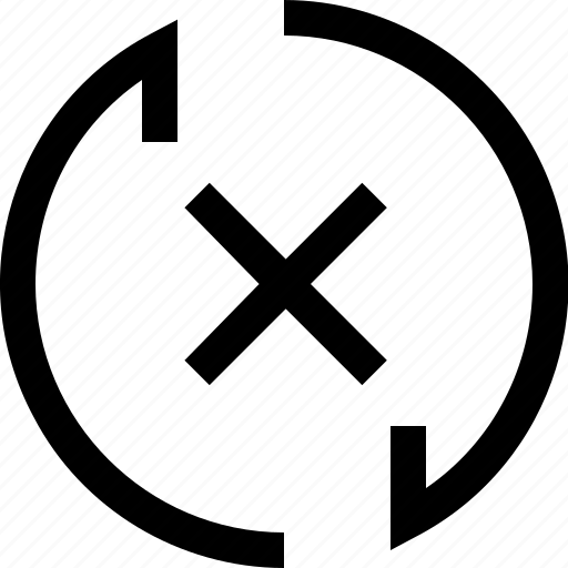 arrow, cross, decrease, increase, recycle, refresh icon