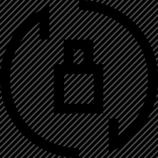 arrow, decrease, increase, lock, recycle, refresh icon