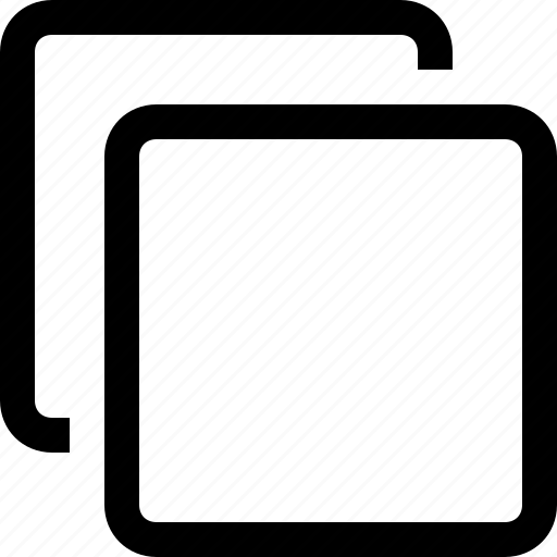 boxes, copy, dublicate, squares icon