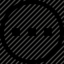 ellipsis, layout, loading, order, radio, settings icon
