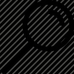 magnifier, minus, plus, search icon