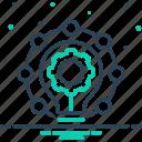 creativity, innovation, modernization, newness, novation, novelty, recency icon