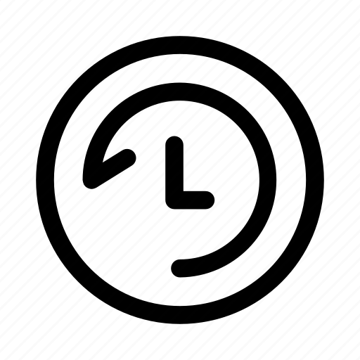 Back, clock, history, log icon - Download on Iconfinder