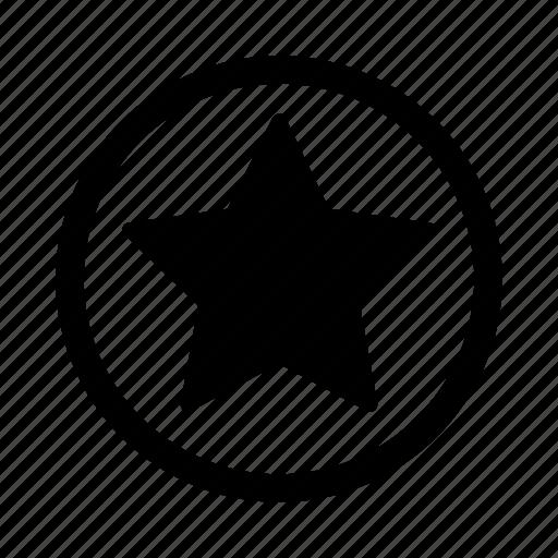 favourite, point, powerup, star icon