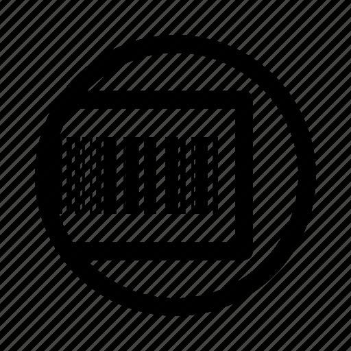 bar, code, promotion, voucher icon