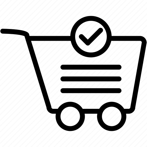 buy, cart, check, ecommerce, shop, shopping, store icon