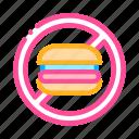 anti, food, unhealthy icon