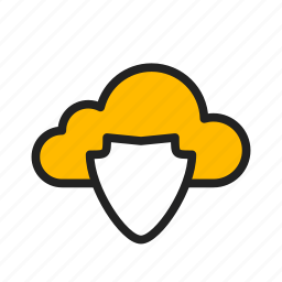 cloud, icloud, protection, safe, security icon