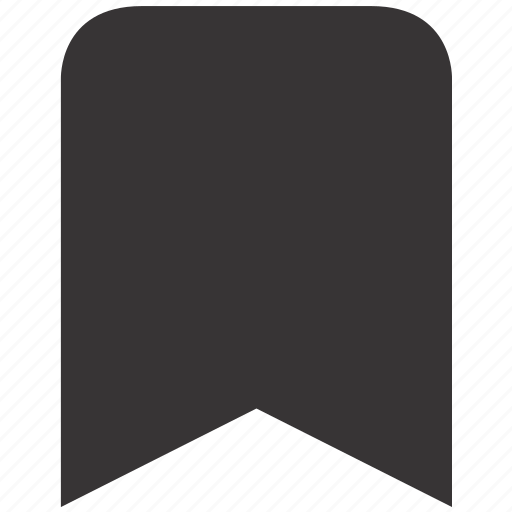 bookmark, favorite, favorites, ribbon, vertical icon