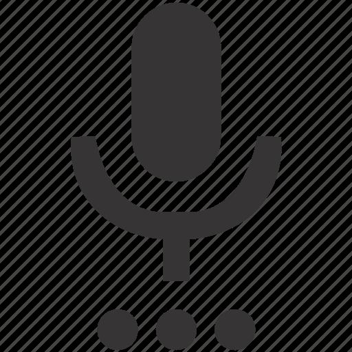 audio, mic, microphone, settings, voice icon