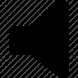 no volume, off, speaker, zero, zero volume icon