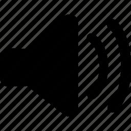 medium, medium volume, speaker icon