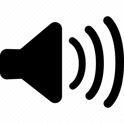 high, max, max volume, speaker icon