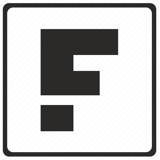 alphabet, f, latin, letter, modern icon