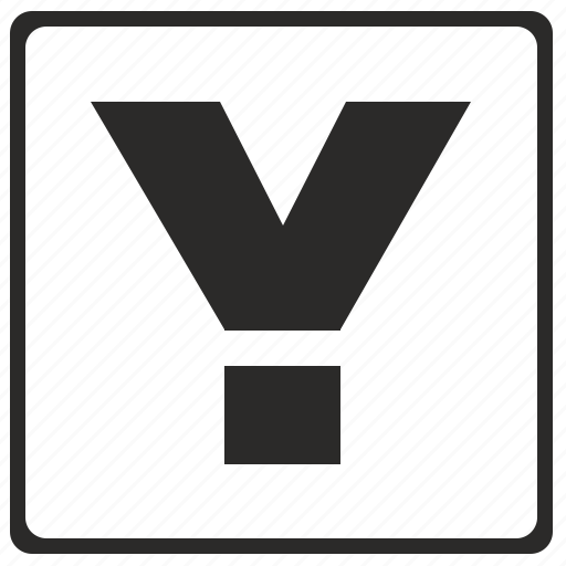 alphabet, latin, letter, modern, y icon
