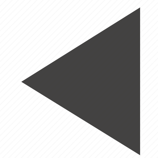 arrow, back, last, left, triangle, ui icon